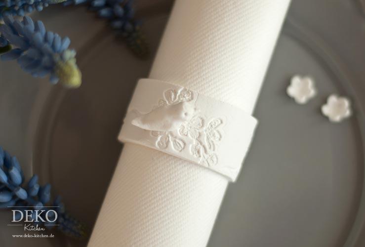 DIY: edle Osteranhänger und Serviettenringe selber machen Deko-Kitchen