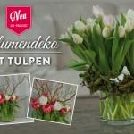 DIY: hübsche Frühlings-Blumendeko mit Tulpen