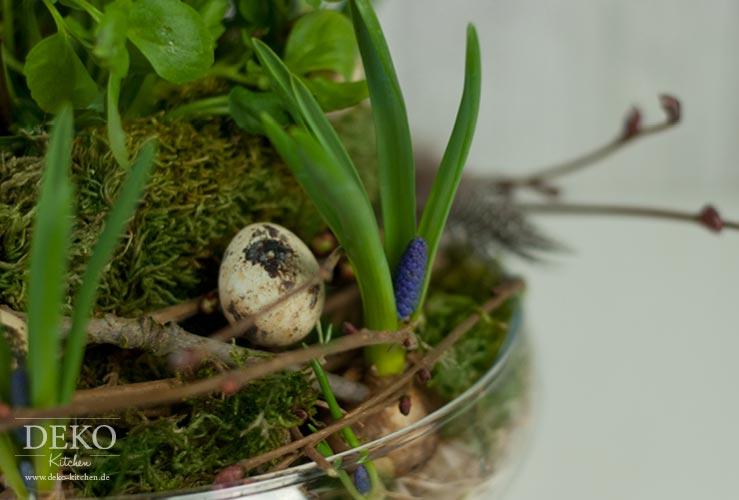 DIY: Ostergesteck mit Zweigen und Federn Deko-Kitchen