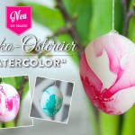 "DIY: Ostereier im ""Watercolor""-Look färben"