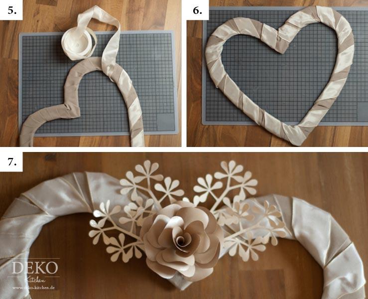 Diy: Satin-Herz Für Brautpaarstühle Als Hochzeitsdeko Selber
