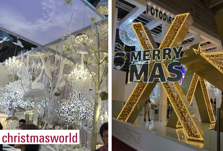 Besuch auf der Creative- und Christmasworld in Frankfurt