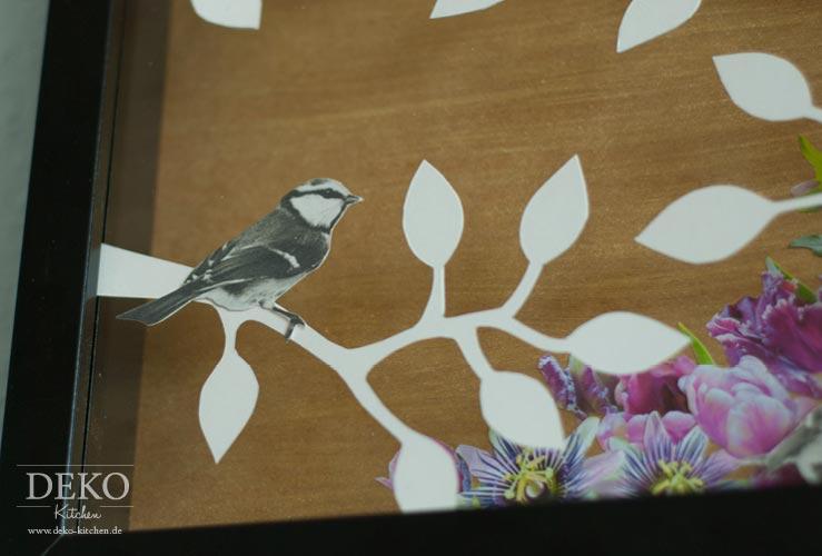DIY: Kollagen mit Papier selber machen Deko-Kitchen