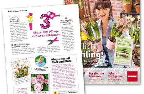Deko-Kitchen in der Frühjahrsausgabe des Penny Magazins