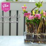 DIY: Blumendeko schnell & günstig