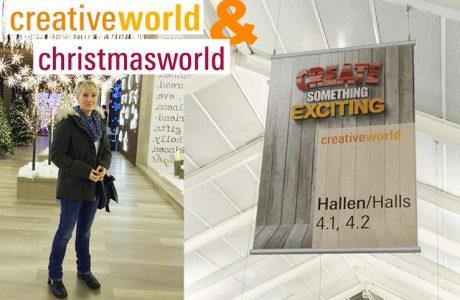 Mein Besuch auf der Creativeworld in Frankfurt