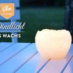 DIY: hübsche Windlichter aus Wachs