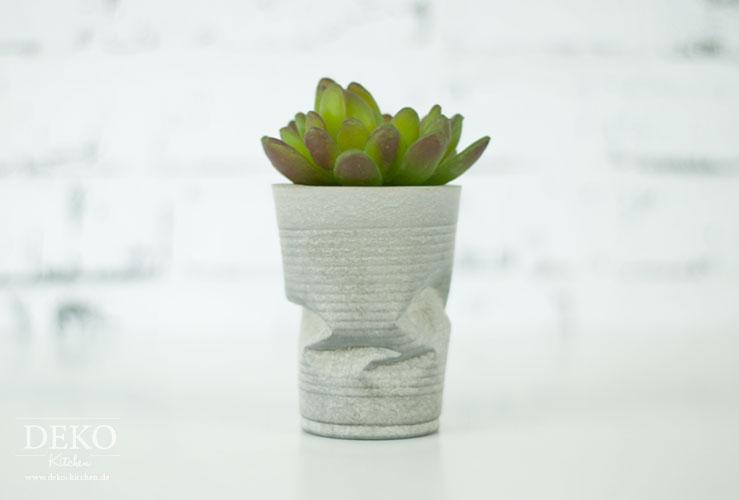 Diy coole knickvasen aus beton deko kitchen - Ideen mit knetbeton ...