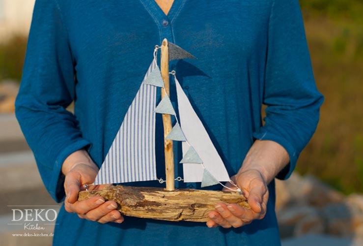 DIY: Deko-Segelboot aus Treibholz Deko-Kitchen