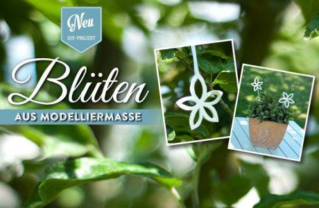 DIY: hübsche Blüten zum Aufhängen oder als Blumendeko