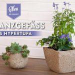 DIY: rustikale Pflanzgefäße aus Hypertufa (Torfbeton)