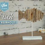 DIY: Deko-Fisch aus Treibholz für maritime Tischdekos