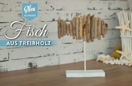 DIY: Deko-Fisch aus Treibholz Deko-Kitchen