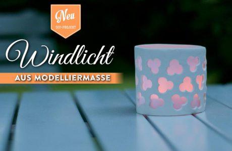 DIY: Windlicht aus Modelliermasse selber machen Deko-Kitchen