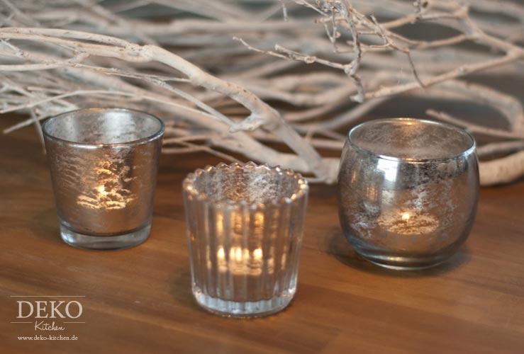 DIY: edles Bauernsilber mit Spiegel-Effekt Deko-Kitchen