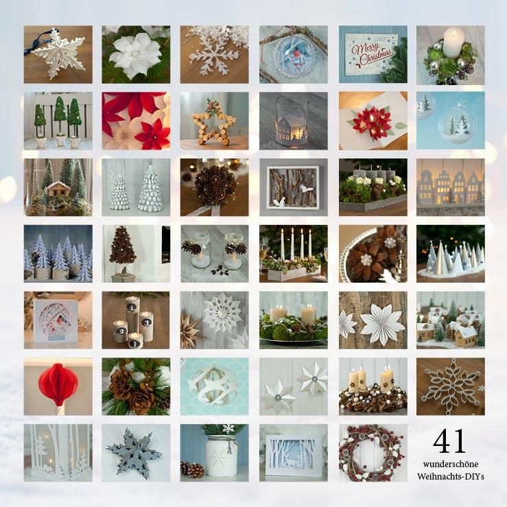 Die schönsten DIY-Weihnachtsdekos mit Vorlagen als eBook (PDF) von Deko-Kitchen
