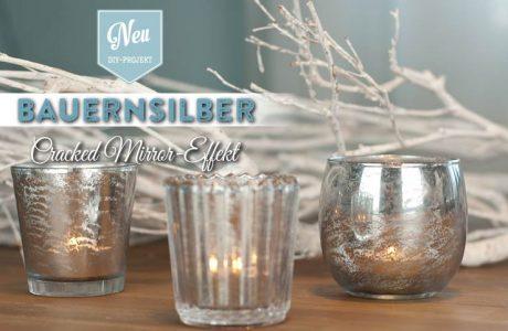DIY: edles Bauernsilber mit Spiegel-Effekt