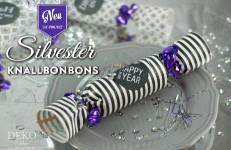 DIY: tolle Knallbonbons für die Silvesterparty