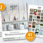 Neu: die schönsten DIY-Weihnachtsdekos mit Vorlagen als eBook (PDF)