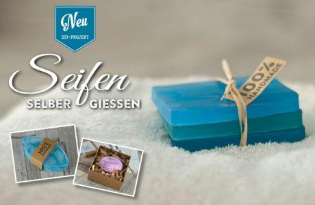 DIY: ausgefallene Seifen zum Verschenken selbermachen