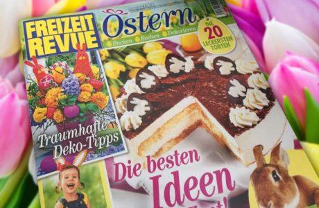 Osterdeko-Idee in der Freizeit Revue Deko-Kitchen