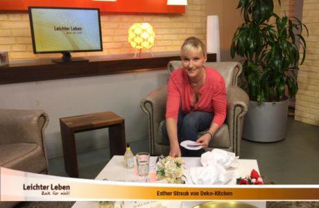 """Deko-Kitchen zu Gast in der Sendung """"Leichter Leben"""""""