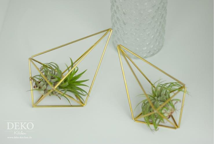 DIY: stylische Blumenampel selber machen Deko-Kitchen