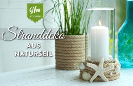 DIY: Sommer-Stranddeko aus Juteseil von Deko-Kitchen