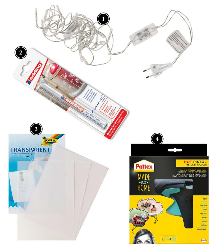 Produkte Papierblüten-Lichterkette