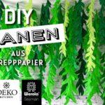 DIY: gigantischer Lianen-Wald aus Krepppapier*