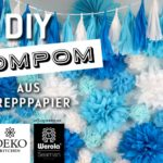 DIY: PomPoms & Rosetten aus Krepppapier