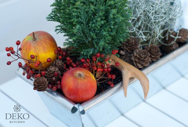 diy blumenk sten f r herbst winter dekorieren deko kitchen. Black Bedroom Furniture Sets. Home Design Ideas