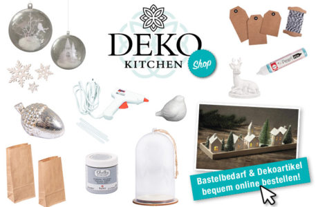 Juhuuu es ist soweit: der Deko-Kitchen Onlineshop ist eröffnet!