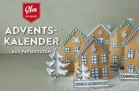 DIY: hübscher Adventskalender aus Papiertüten