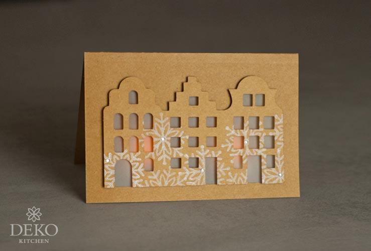 Diy h bsche weihnachtskarten f r led teelichter deko for Deko kitchen herbstdeko
