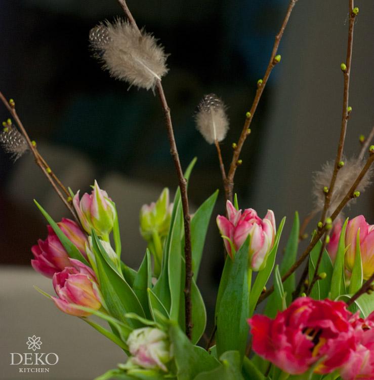 DIY: hübsche Frühlingsdeko mit Federn Deko-Kitchen