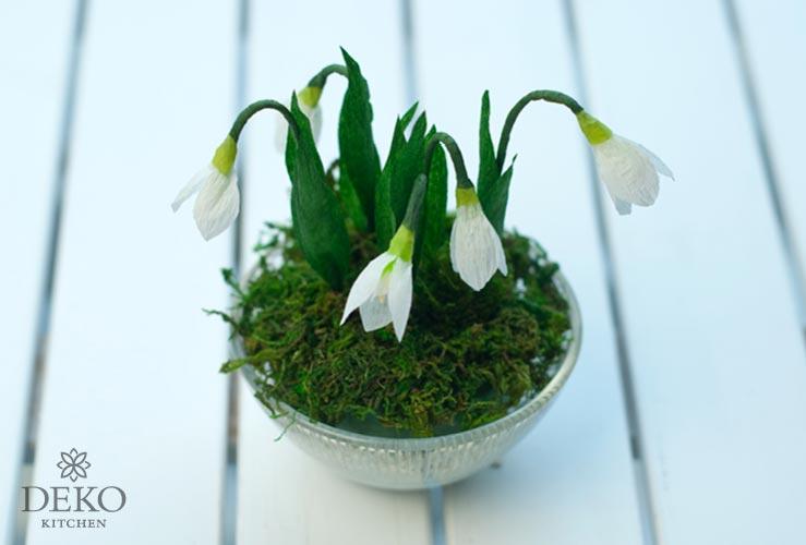 DIY: süße Frühlingsdeko mit Schneeglöckchen Deko-Kitchen