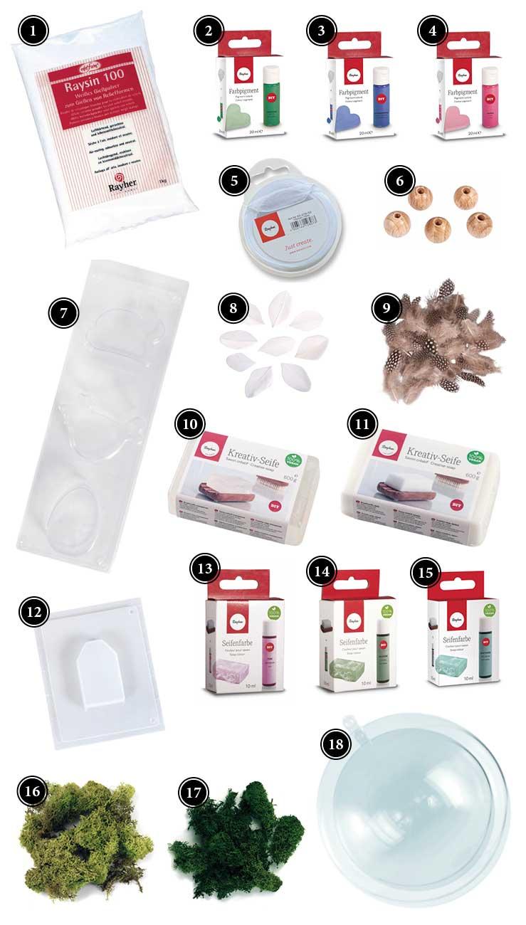 Produkte: hübsche Osterdeko einfach und schnell gießen
