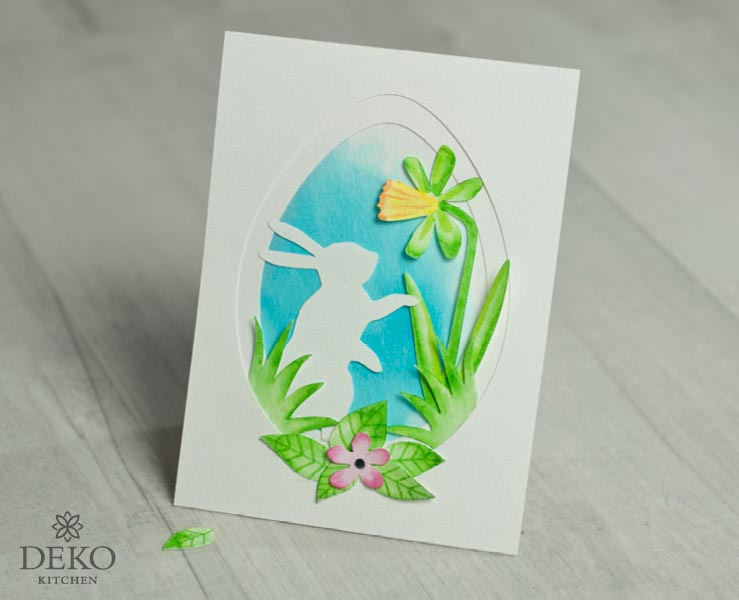 DIY: hübsche Osterkarten mit Aquarellstiften