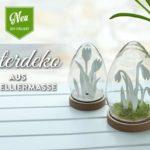 DIY: süße Osterdeko aus Modelliermasse