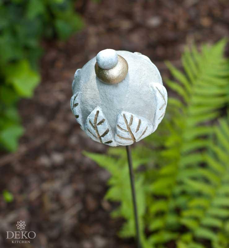 DIY Gartenstecker aus Knetbeton Deko-Kitchen