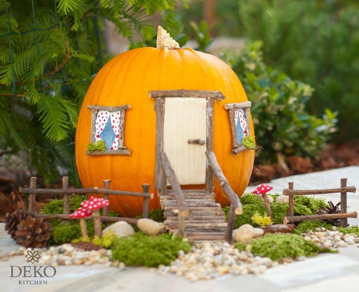 Diy Süßes Kürbis Haus Für Die Herbstdeko Mit Kindern Deko