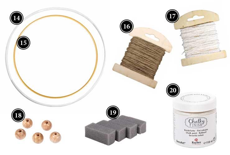 Produkte für Dekoring mit Goldmohn aus Krepppapier Deko-Kitchen Onlineshop
