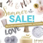 Sommer-Sale im Deko-Kitchen Onlineshop