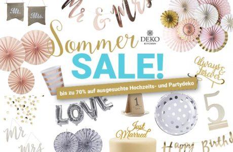 Großer Sommer-Sale im Deko Kitchen Onlineshop!