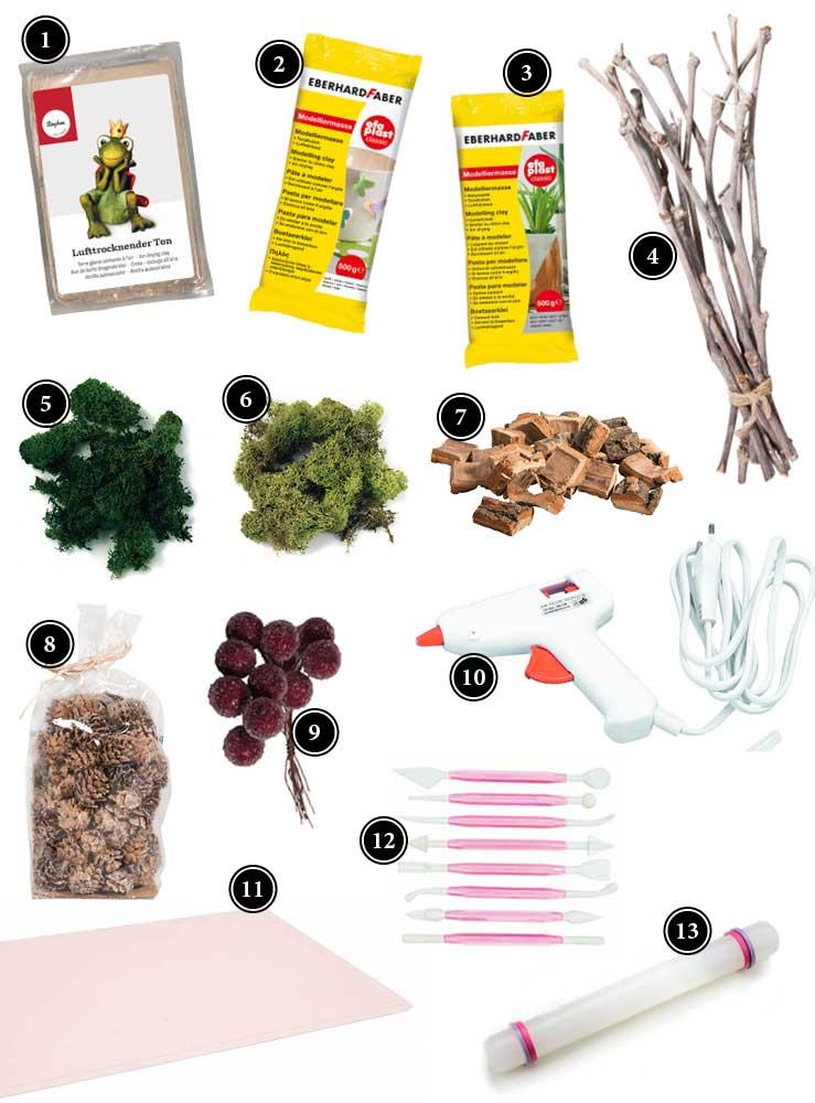 Produkte für die ausgefallene Herbstdeko für den Tisch Deko-Kitchen