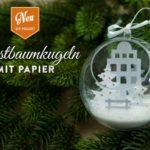 DIY: Christbaumkugeln mit Winterlandscahften Deko-Kitchen