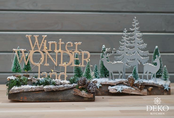 Diy weihnachtliche fensterdeko mit s er winterlandschaft - Winterlandschaft deko ...