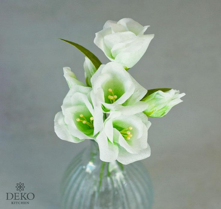 DIY: traumhafte Lisianthus-Blüten aus Krepppapier Deko-Kitchen