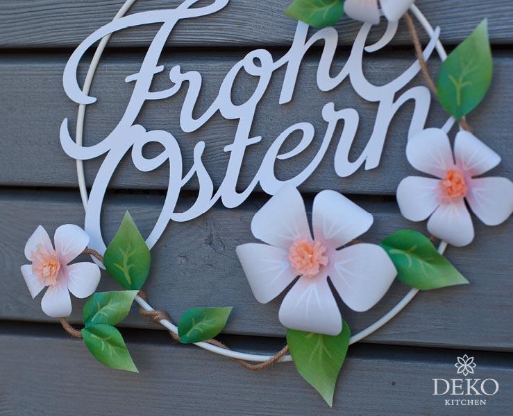 DIY: Osterdeko mit Apfelblüten aus Papier Deko-Kitchen